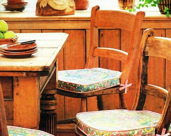 Kitchen chair pads | Etsy