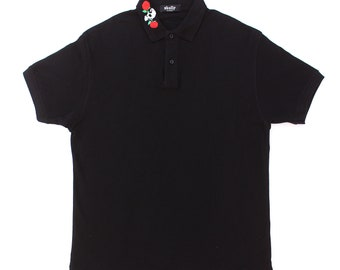 Skull and Roses Collar Polo