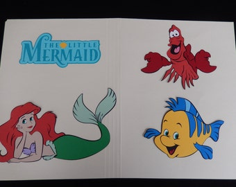 Disney Little Mermaid Cricut Die Cut Set