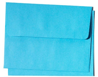 25 A6 Cloud Blue Envelopes - for 4x6 invitation and announcements