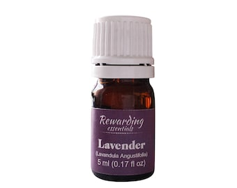 Lavender Essential Oil 100% Pure Therapeutic Grade by Rewarding Essentials US Seller