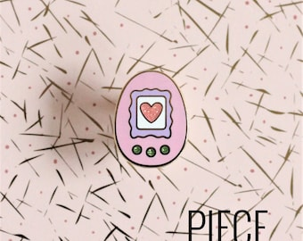 Virtual Pet Hard Enamel Pin