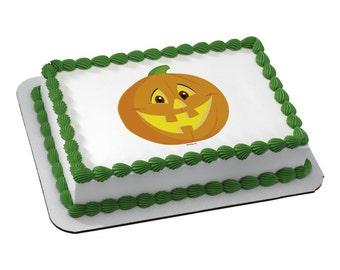 Edible Image HALLOWEEN PUMPKIN