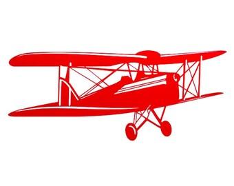 Vintage Airplane Cutout