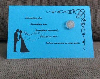Silver Sixpence for the Bride