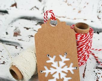 Christmas Gift Tag Set - Pack of 5 Christmas Gift Tags - Gift Labels - Gift Tags - Xmas Gift Tags