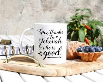 Jehovah Witness Coffee Mug - Jehovah's Witness Gifts - Jw Stuff -Jehovah Witnesses - JW Gifts - JW Pioneer - Pioneer School - JW Ministry
