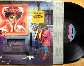 Aretha Franklin - Who's Zoomin' Who (1985) Vinyl LP; Freeway of Love, Eurythmics