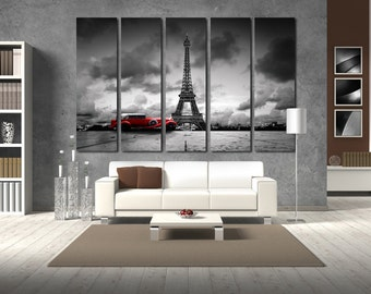 Eiffel Tower Paris Paris Wall Decor Paris Wall Art Eiffel Tower Canvas Paris  Canvas Paris Poster