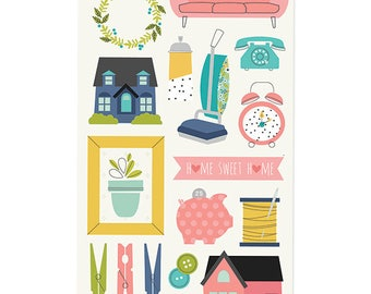 SALE Simple Stories Domestic Bliss Doc-it Journal