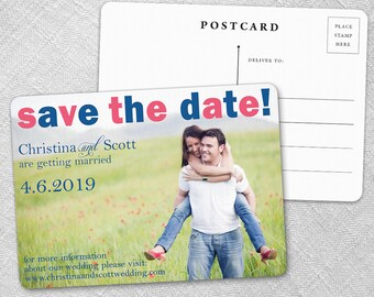 Big Sky - Postcard - Save-the-Date
