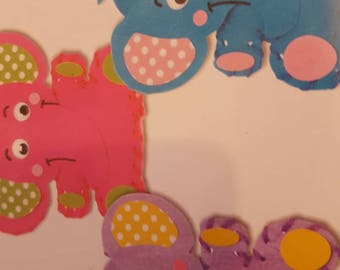 Elephant bean bags, make your own, DIY kits, childrens craft.