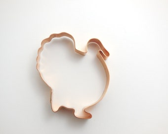 Turkey Thanksgiving Cookie Cutter - handcrafted by The Fussy Pup