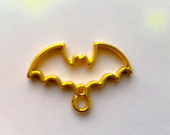 bat open bezel for resin craft