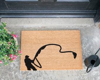 Fishing doormat - 60x40cm - Gift for fishermen