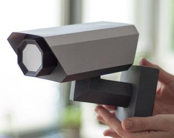 CCTV - DIY Papercraft Kit