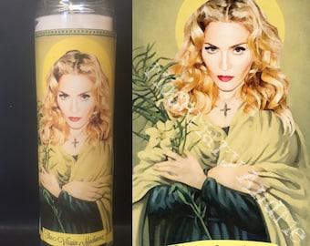 Madonna Devotional Prayer Saint Candle
