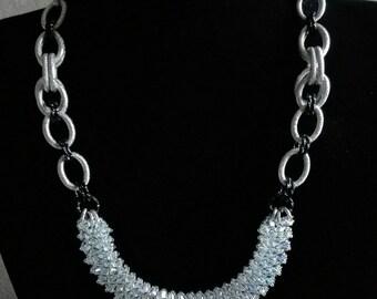 """Handmade necklace""""Elegance rock necklace"""""""