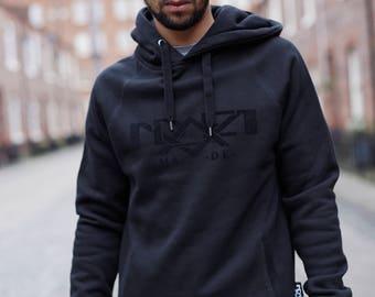 Black on Black Pullover Hoody