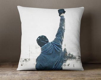 Attrayant Rocky Balboa Decorative Throw Pillow Cover Pillowcase Design Pillow Case  Gift Movie Home Cinema Decor Home
