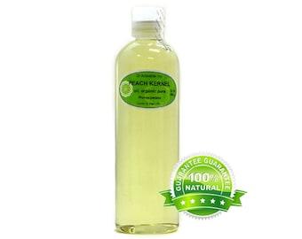 12 OZ Peach Kernel Oil 100% Pure Organic Cold Pressed