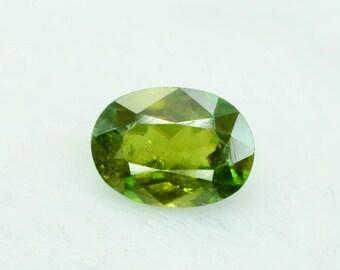 1.55 cts Rare Full Fire Multi Color Natural Sphene Titanite Gemstone from Pakistan - 6*4*1 mm