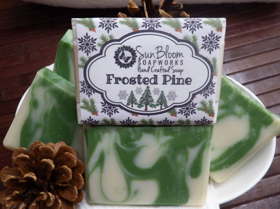 Frosted Pine Soap
