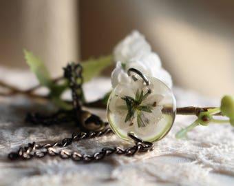 Small Purple Wild Flower Bracelet