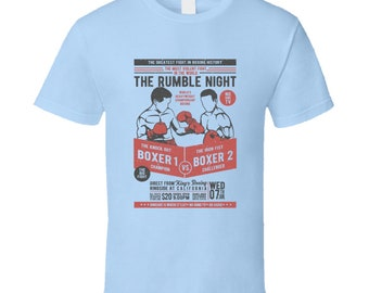 The Rumble Night Champion Boxers T Shirt