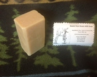 Free Shipping Jones 5 Star Ranch Baasic Pure & Natural Goats Milk Soap