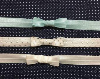 Bow and knot headbands