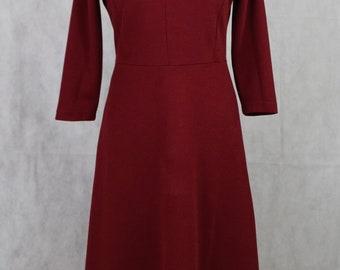Vintage red dress, vintage clothing, women's clothing, vintage, clothing, women's vintage, kawaii clothing, kawaii, dresses for women