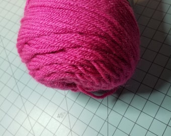 I Love This Yarn in Hot Rose 1 Skein