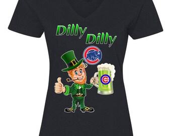 Chicago Cubs Irish Shirt, Irish Cubs Shirt, Dilly Dilly Cubs Shirt
