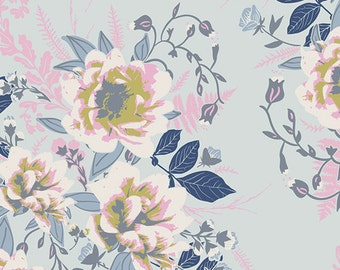 Bonnie Christine - Ethereal Fusions - Wild Posy Ethereal - Art Gallery Fabrics (FUS-E-100) - 1 Yard