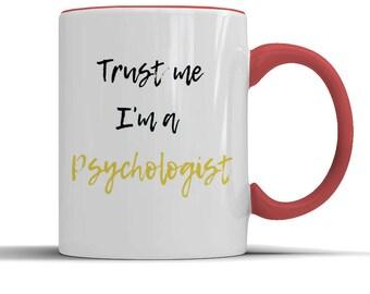 Psychologist mug, psychologist gift, psychologist birthday, psychology graduation, psychology mug, psychologist friend, psychologist husband