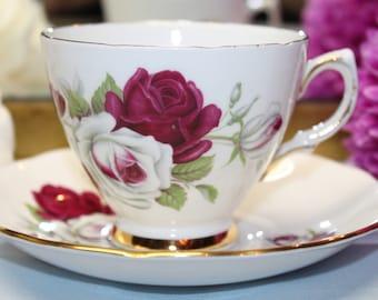 COLCLOUGH Bone China Teacup and Saucer Set