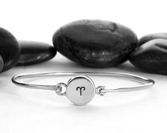 Aries Bracelet, Aries Jewelry, Aries, Zodiac Jewelry, Aries Charm, Astrology, Astrology Jewelry, Constellation, Zodiac, Horoscope