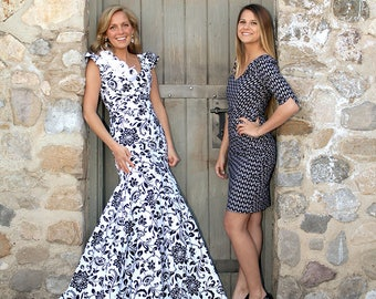 The Skyleigh Gown Pattern by GoLightly Sewing Studio - Paper Printed Pattern