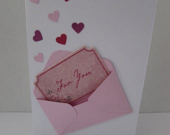 Love card envelope pricing