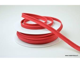 Passepoil 10 mm coton Rouge Hermès