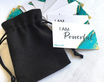 I AM power pack - Believe in ME add on affirmation pack /gift/positive affirmations/ truth