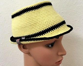 Hat Trilby Gr. crochet 53-55cm