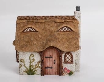 Fairy Cottage | Miniature Thatched Cottage | Fairy House | Fairy Garden Cottages | Miniature Fairy Cottage