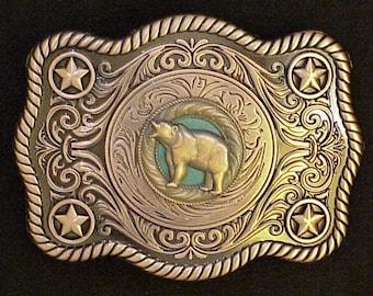 Bear Buckle Antique Copper