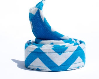 Sky Blue Belt for Boys - Buckleless Belt - White Belt - Waist Belts for Kids - Potty Training Web Belts for Boys - Boys Belts