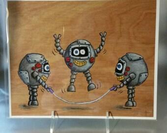 Robot Recess: Jump Rope