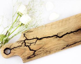 Two Handled Barn Wood Charcuterie Board