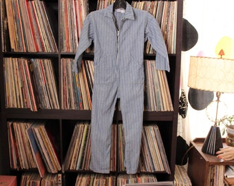 CHILDS vintage herringbone denim coveralls by Pella Dutchie Play Tog
