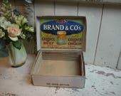 Antique Advertising Box -...